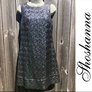 Shoshanna Metallic Dress 6